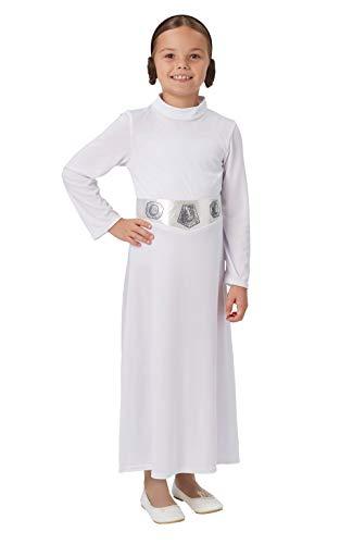 Skywalker Kostüm Einfach Luke - Rubie's 641085 9-10 Star Wars Kostüm Mädchen mehrfarbig