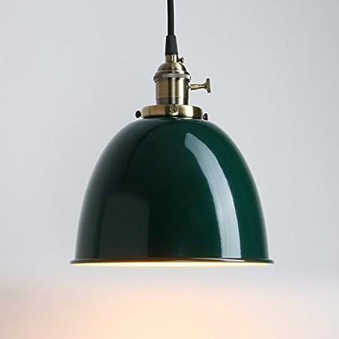 Pathson Industrie Loft-Pendelleuchte Antik Deko Design Metall Schirm innen Pendelleuchte