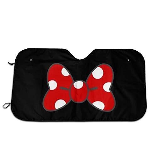 YQLDFB Parasol Parabrisas Coche diseño Minnie Mouse