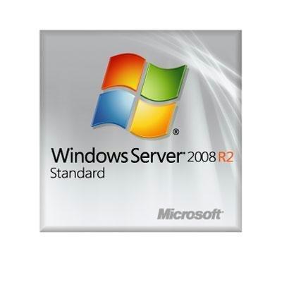 Systembuilder Windows Server Standard 2008 R2 SP1 64Bit x64 1pk DSP OEI DVD 1-4CPU 5 Clt