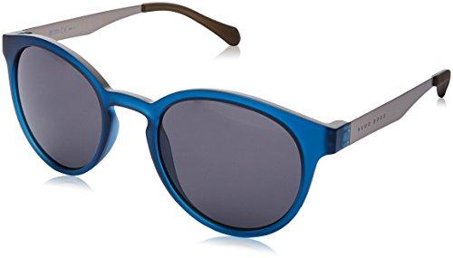 BOSS Hugo Unisex-Erwachsene 0869/S Ir Sonnenbrille, Blau (Dkbluee Mtrut/Grey Blue), 51
