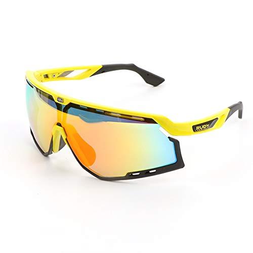 WeiJX Sport Polarisierte Sonnenbrille UV-Schutz Sonnenbrille Laufen Golf Angeln Wandern Baseball 0020 Fahren Sonnenbrille Shades für Männer Frauen,A