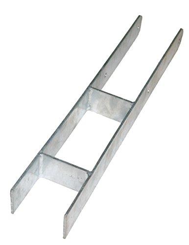 Preisvergleich Produktbild Pfostenträger H Anker H Träger für Pfosten 10x10 cm