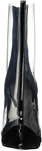 Kendall and Kylie Kkhaven, Bottes Femme Transparent (Clear Black Patent/clear)