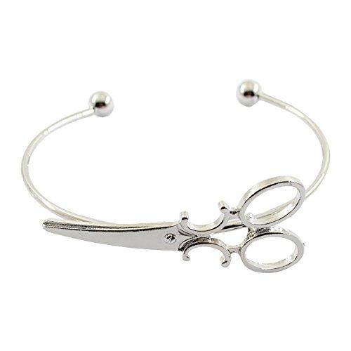 d Kreative Stilvolle Charm Charming Armreif Schmuck ZubehörDesign Manschette Armband Schere Einstellbare Armreifen Armbänder Für Frauen Schmuck SL ()