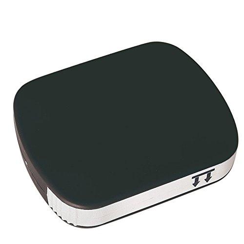 Pillendose / Medikamentendose, handlich, klein und kompakt, für Reisen geeignet, in 4Farben erhältlich schwarz