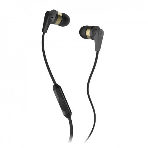 Skullcandy S2IKDY-107 Ink'd 2 In-Ear Headphone with Mic (Gold/Black)  available at amazon for Rs.890