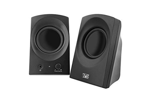 T'NB HPARK20BK Ark Series 2.0 Lautsprecher für PC und Apple Mac Schwarz