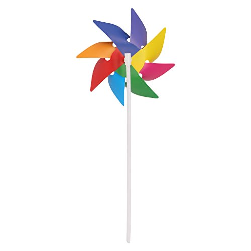 Garten Hof Party Camping Windmühle Wind Spinner Ornament Dekoration Kinder Spielzeug Neu