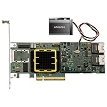 Adaptec RAID 5805Z - Controlador RAID (8 puertos internos, interfaces SATA 300 y SAS de perfil bajo, bus PCI Express x8)
