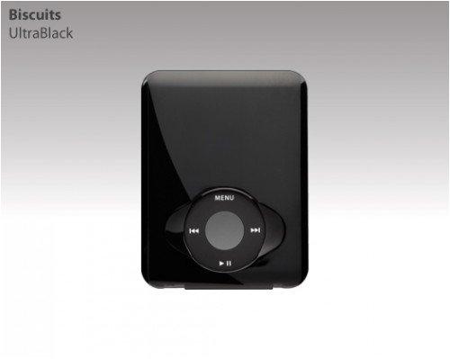 Switch Easy iPod Silicon Case Etui pour iPod Noir