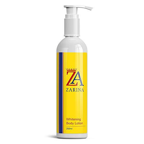 ZARINA WHITENING BODY LOTION ALTA RESISTENZA SICURO FORMULA NATURALE FAIRER PELLE cura della pelle alleggerente lotion