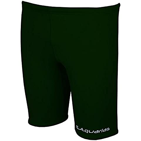 Aquarias Solid Jammers Green Size 22