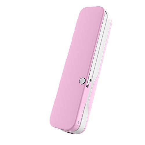 Dewanxin Selfie-Stick Bluetooth, Mini-Faltbarer Selife-Stick, Einstellbar Der Selfie-Stick mit Drahtloser Fernbedienung Funktioniert mit iPhone X 8 8Plus 7plus 7/Galaxy S9 S9 Plus/Note 8/S8 (Pink)