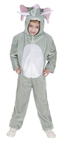 Monster Elefanten Overall Kinder Kostüm Größe M Karneval Tierkostüm Unisex 50025