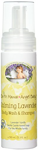 Earth Mama Angel Baby Shampoo & Body Wash Calming Lavender -- 5.3 fl oz by Earth Mama Angel Baby
