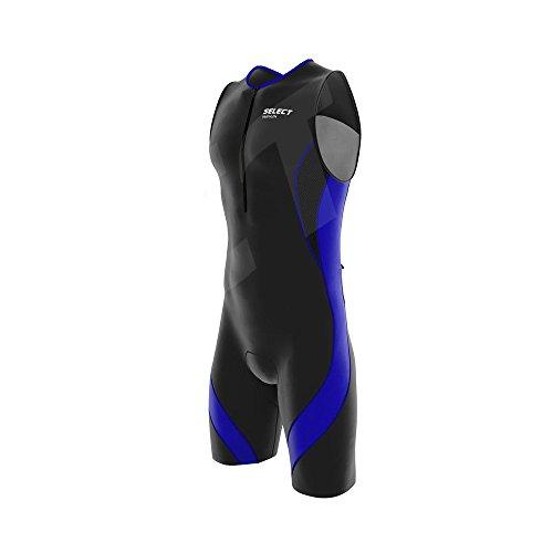 Select Herren-Triathlon-Einteiler, hautenger Kompressionsanzug, zum Laufen/Schwimmen/Radfahren  S königsblau