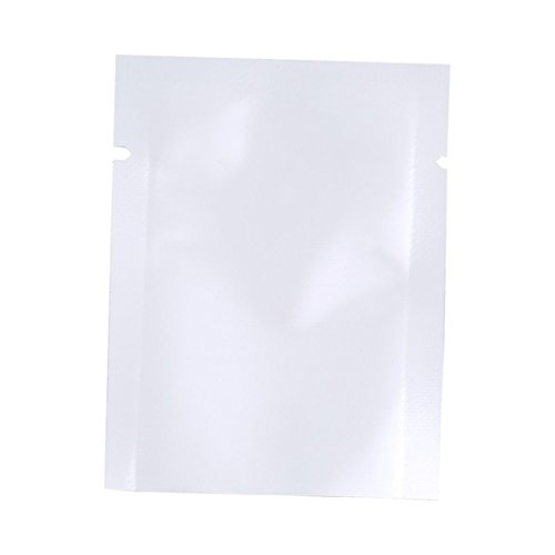 zhouba 100PCS Aluminium Folie Mylar Tasche Vakuumiergerät Lebensmittel Aufbewahrung Paket Beutel