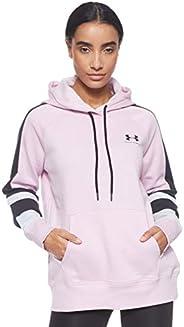 Under Armour Women's Rival Fleece Lc Logo Hoodie Novelty Ho
