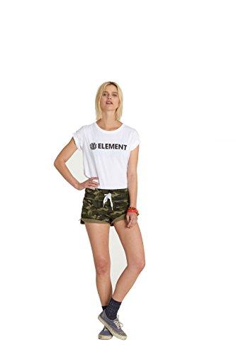 Damen T-Shirt Element Petunia Tee SS Women White
