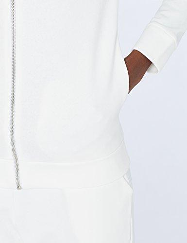 MERAKI Hoody mit Reißverschluss Damen Weiß (White)