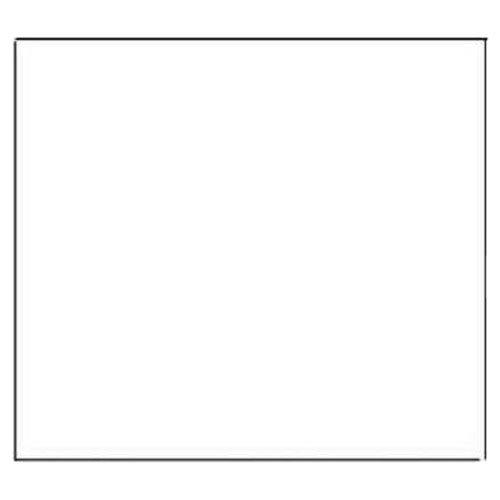Magic Coque étiquette Shelf Liner, 45,7 cm par 75-feet, solide Blanc