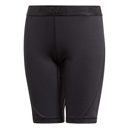 adidas Jungen Alphaskin Sport Short Tights 1/2, Black, 158