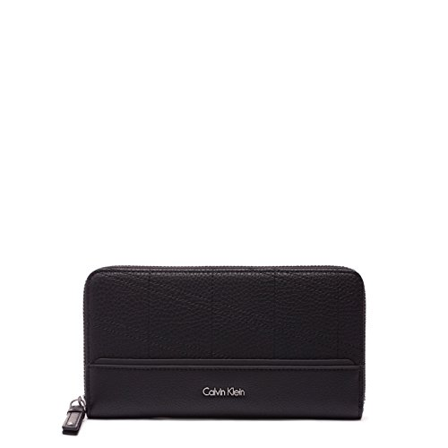 Calvin Klein Marina Large Ziparound Ritsportemonnee K60K602702001001 Black