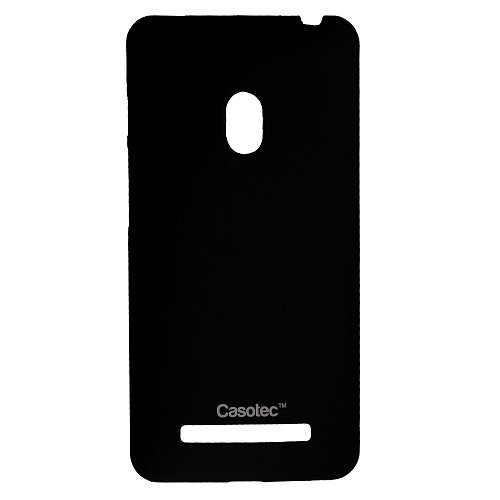 Casotec Ultra Slim Hard Shell Back Case Cover for Asus Zenfone 5 - Black  available at amazon for Rs.125
