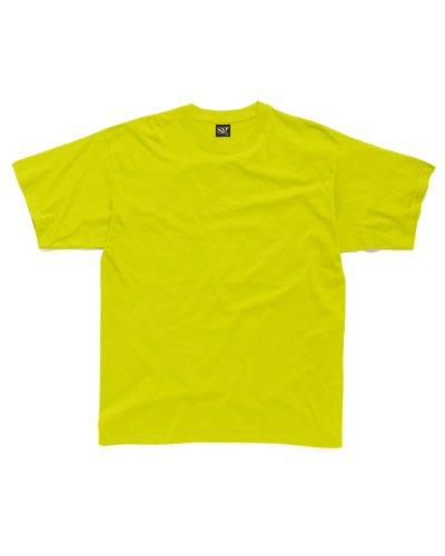 SG sg18-lm-s Herren Schwere T-Shirt, Größe S, limette (10Stück)