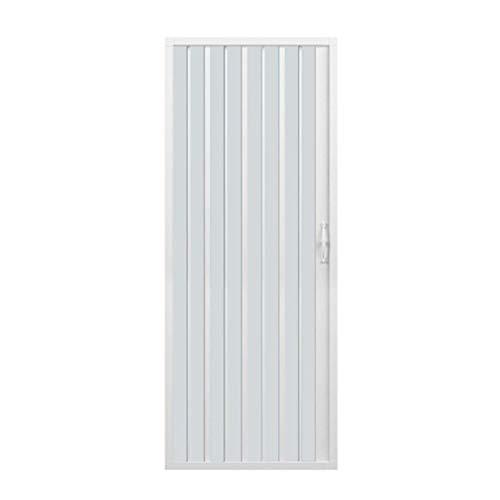 dusch falttuer Duschkabine mit einer Tür Öffnung Vorderseite. Hergestellt In PVC ungiftig selbstverlöschend Reduzierbare durch den Schnitt der Schiene. Farbe weiß.
