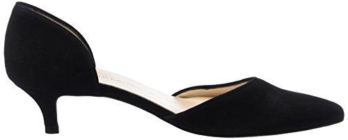 Peter Kaiser RIANNA, Chaussures à talons - Avant du pieds couvert femme Noir - Schwarz (SCHWARZ SUEDE 240)