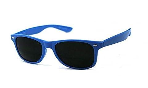 Lunettes de Soleil Facil&co® Bleu Marine Unisexe, Hommes, Femmes STYLE WAYFARER Retro Vintage Normes CE UV 400