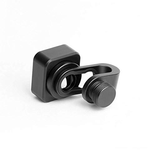 Ganquer 1,33 x Breitbild-Verformung Telefonobjektiv mit Clip für Filme, HD-Auflösung, Schwarz, Free Size -