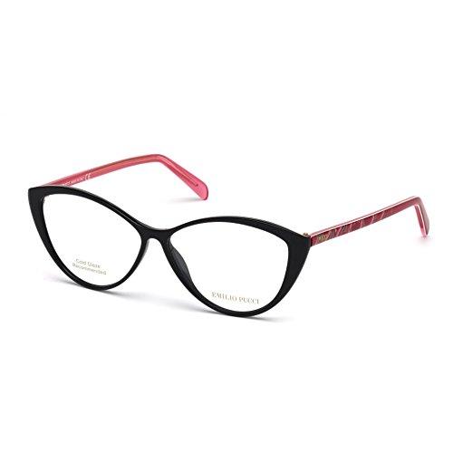 emilio-pucci-ep5058-001-occhiale-da-vista-nero-black-eyeglasses-sehbrille-new