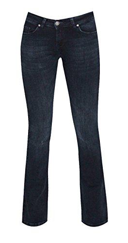 Zhrill Damen Jeans Hose Daffy Flare Blue D417645-W7182-30 (Denim Blue Flare)