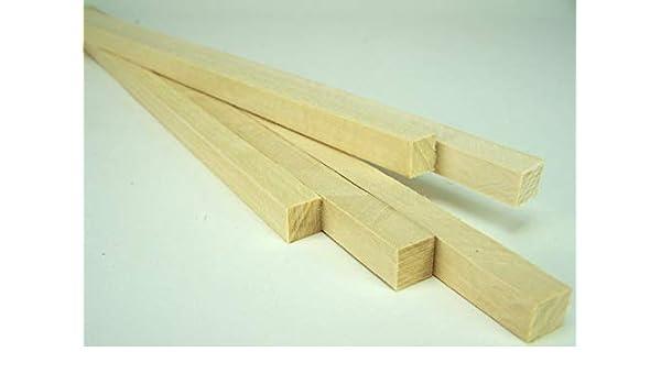 2,39 EUR//Meter 1,4x1,4x25 cm Kanthölzer Lindenholz zum Krippenbau. 5 St