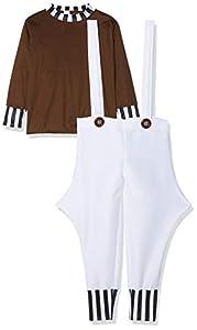 I Love Fancy Dress. ilfd7008X L Childs Trabajador de fábrica Disfraces XL