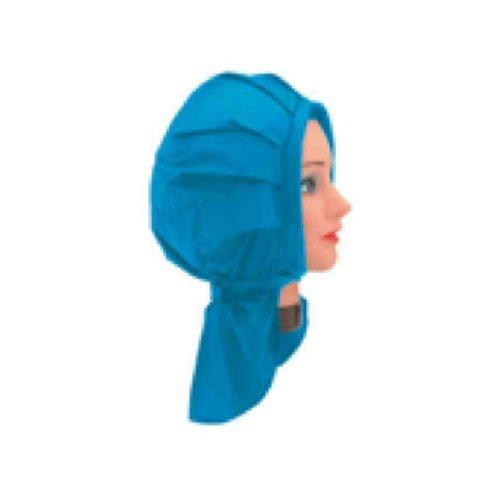 Sibel - Bonnet Permanente Velcro - Couleur : Ciel