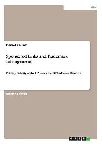 Zoom IMG-1 sponsored links and trademark infringement