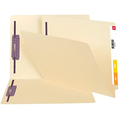Fastner Folder, Ltr, 14pt, Position 1/3, 50/PK, Manila, Sold as 1 Box