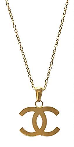 STILVOLLE HALSKETTE (Artikelnummer 29408-CC-17506) - Gold/Silber (Gold)