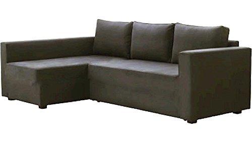 HomeTown Market Sostituzione Manstad Copertura è su Misura per Ikea Manstad Divano-Letto con Chaise sezionale di Copertura, o Un Angolo Fodera Proprio Braccio più Lungo