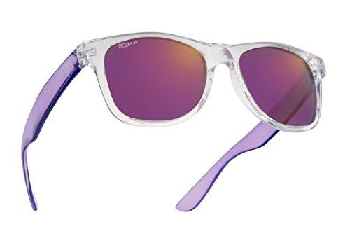 Boom Spectrum Premium Polarized Sonnenbrillen für Herren und Damen von Dimensional Optics - BERRY SPLASH