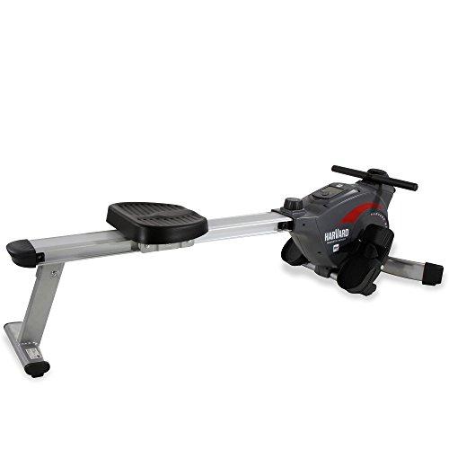BH Fitness Harvard klappbare Rudermaschine, Ruderzug, Rudergerät; Zentraler Seilzug, Magnetisches Bremssystem R301L
