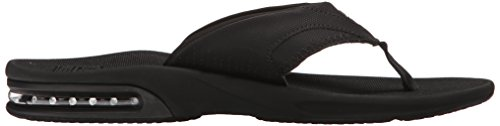 Reef Fanning, Flip-flop homme noir all black