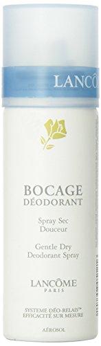 Lancome Bocage Deodorante, Gentle Dry Deodorante Spray, Donna, 125 ml