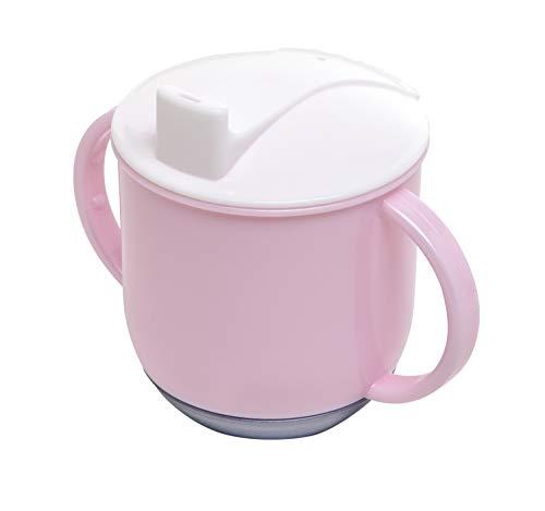 Rotho Babydesign Schaukeltasse, Ab 6 Monaten, Modern Feeding, 10,5x12cm, Tender Rosé Pearl/Weiß/Perlsilber, 30024026301 Tasse Pearl