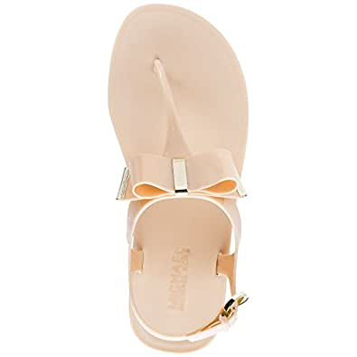 2ec9806cef0f ... Michael Kors Women s Kayden Jelly Thong Sandals 1 Synthetic Slippers
