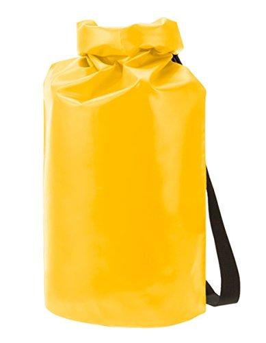 HALFAR® HF9786 Drybag Splash Freizeittaschen Sport- & Reisetaschen Tasche, Farbe:Black Matt yellow